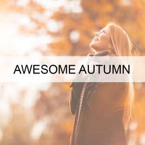 AWESOME AUTUMN HEALTH BUTTON