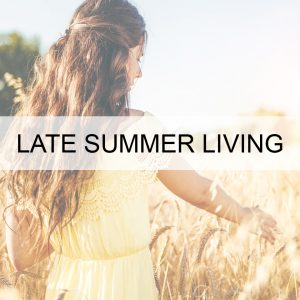Late Summer Living BUTTON