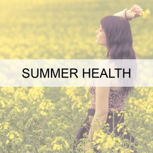 Sensational Summer Health BUTTON