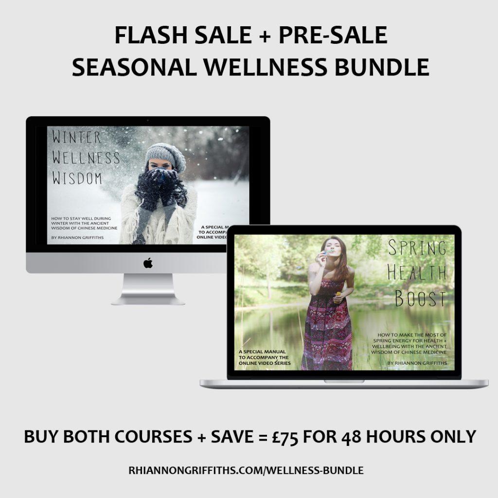 winter spring wellness bundle seasonal online course