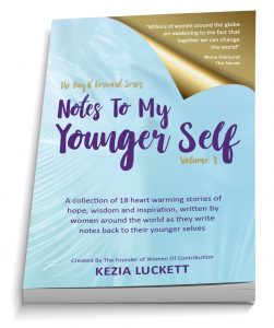 Notes to my Younger Self Book